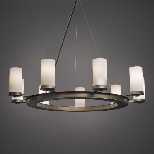 Chandeliers By Ultralights Radius Modern LED Retrofit Up Light Chandelier 15348
