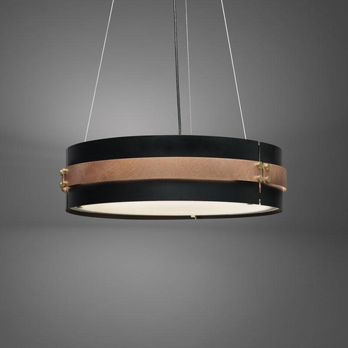 Chandeliers/Pendant Lights By Ultralights Invicta Modern Incandescent Drum Shade 60 Watt Pendant 16354-30