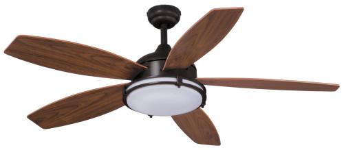 Tali Led 52 Inch Opal Ceiling Fan-F0038 by Vaxcel Lighting