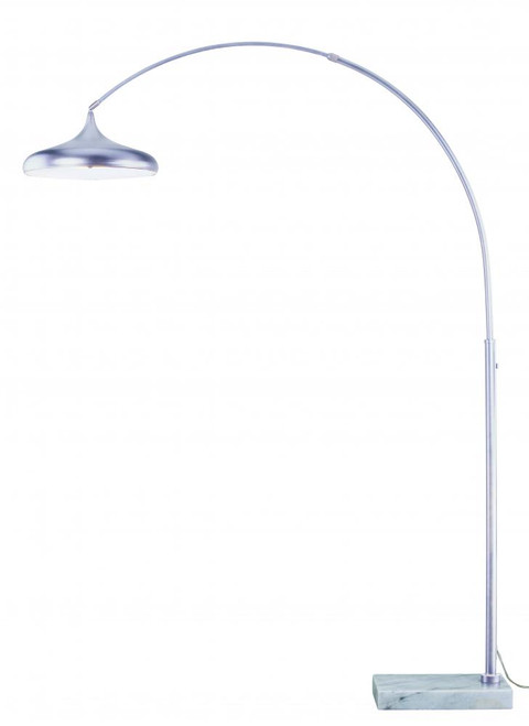 Bacio Satin Nickel Floor Lamp-L0005 by Vaxcel