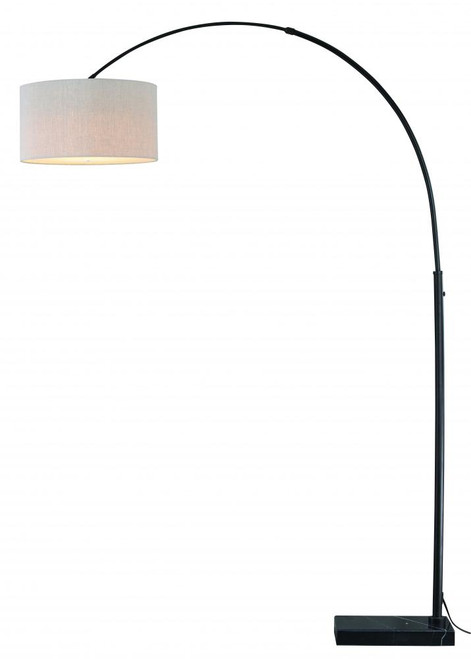 Luna Oil Rubbed Bronze Floor Lamp-L0004 by Vaxcel
