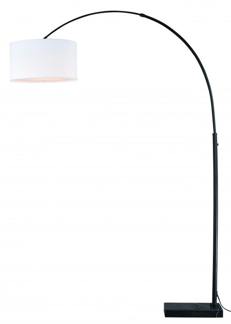 Luna Oil Rubbed Bronze Floor Lamp-L0003 by Vaxcel