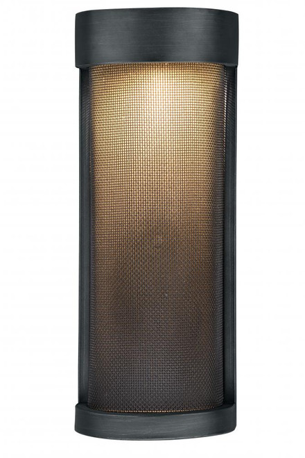 Wicker Park Warm Pewter Outdoor Wall Light-T0236 by Vaxcel Lighting
