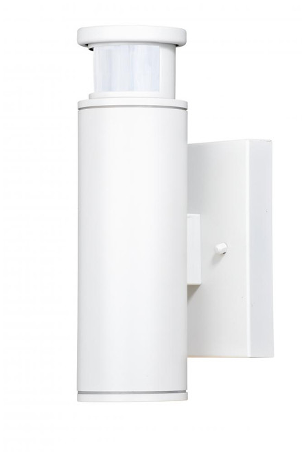 Chiasso Textured White Outdoor Wall Light-T0343 by Vaxcel Lighting