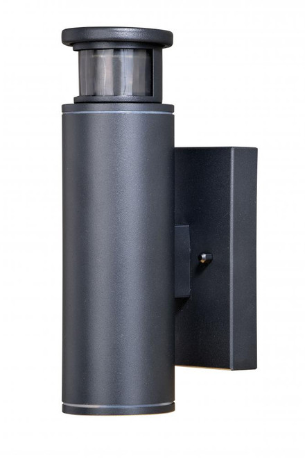 Chiasso Textured Black Outdoor Wall Light-T0344 by Vaxcel Lighting