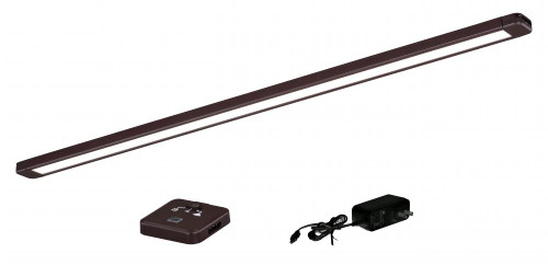 21 Inch Instalux LED Slim Under Cabinet Strip Light Bronze-X0089 by Vaxcel Lighting