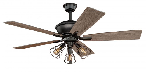 Clybourn 52 Inch Bronze Ceiling Fan-F0042 by Vaxcel Lighting