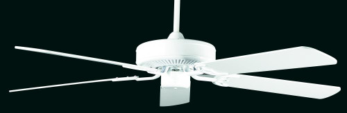 California Home 52 Inch White Ceiling Fan-CF52242-30 by Sunset Lighting
