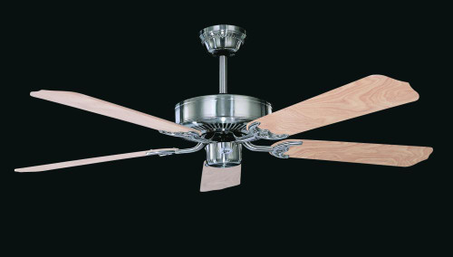 California Home 52 Inch Silver Ceiling Fan-CF52242-50 by Sunset Lighting