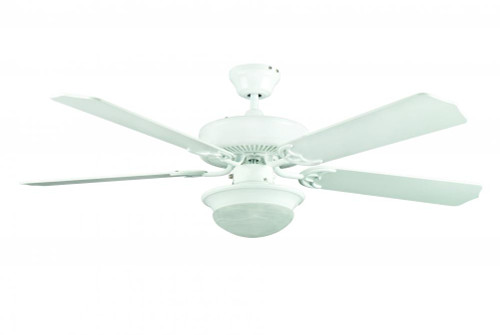 Hef 52 Inch White Ceiling Fan-CF52831-30 by Sunset Lighting