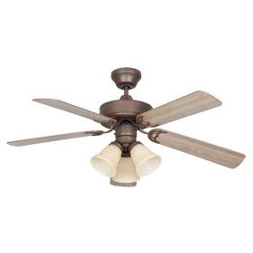 Heritage 42 Inch Brown Ceiling Fan-CF42848-30-L by Sunset Lighting