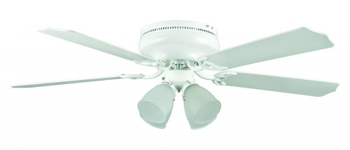 Montego Bay 52 Inch White Ceiling Fan-CF52148-30 by Sunset Lighting