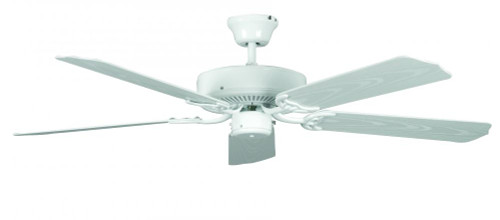 Porch 52 Inch White Ceiling Fan-CF52264-30 by Sunset Lighting