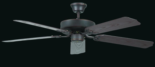 Porch 52 Inch Black Ceiling Fan-CF52264-43 by Sunset Lighting
