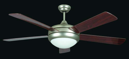 Saturn 52 Inch Silver Ceiling Fan-CF52376-53-L by Sunset Lighting
