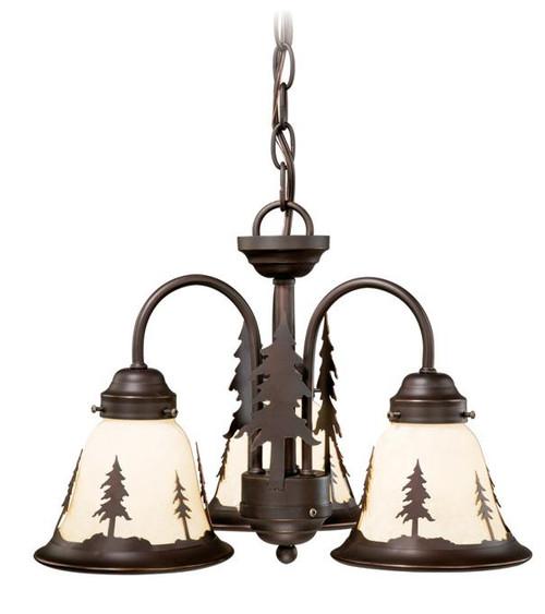 Yosemite 3 Light Light Kit (Dual Mount)-LK55516BBZ-C by VaxcelLighting