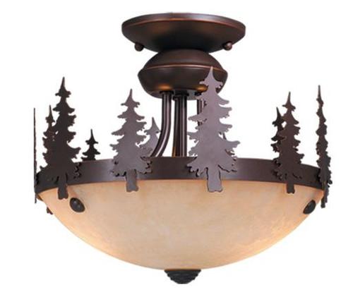 Yosemite 12 Inch Light Kit (Dual Mount)-LK55512BBZ-C by VaxcelLighting