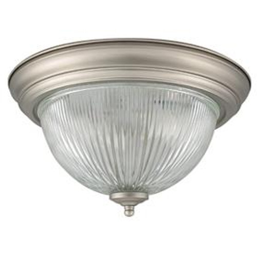 1 Light White Flushmount Ceiling Light-F7500-30 by Sunset Lighting
