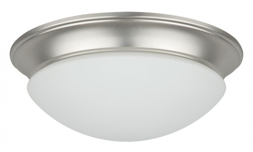 3 Light Silver Flushmount Ceiling Light-F7134-53 by Sunset Lighting