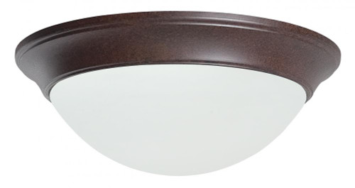 1 Light Silver Flushmount Ceiling Light-F7179-53 by Sunset Lighting