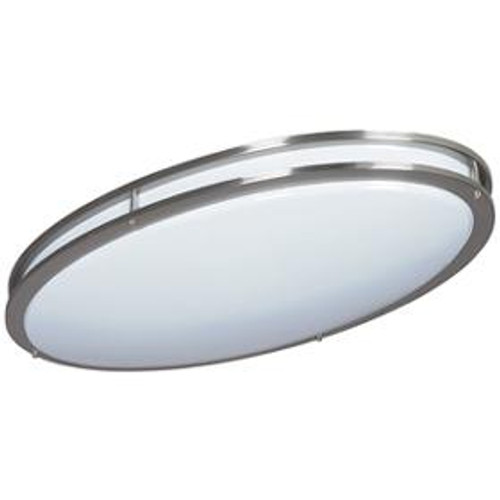 2 Light Silver Flushmount Ceiling Light-F9880-80 by Sunset Lighting