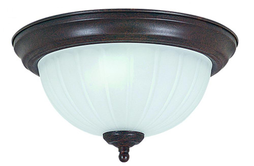 1 Light Bronze Flushmount Ceiling Light-F7100-62 by Sunset Lighting