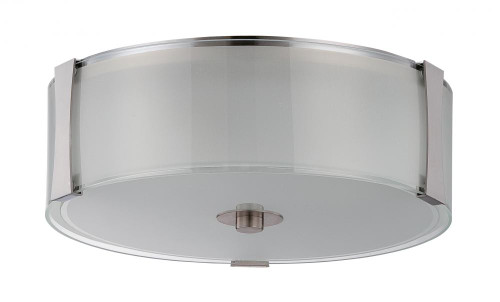 Rowley 3 Light Silver Flushmount Ceiling Light-F3512-80 by Sunset Lighting