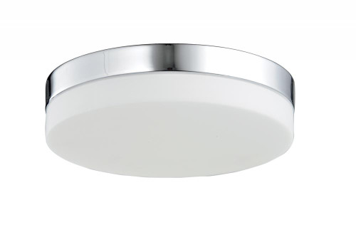 Ceiling Lights By Avenue Lighting CERMACK ST. Flushmount Drum Shade in Polished Chrome HF1105-CH