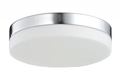 Ceiling Lights By Avenue Lighting CERMACK ST. Flushmount Drum Shade in Polished Chrome HF1106-CH