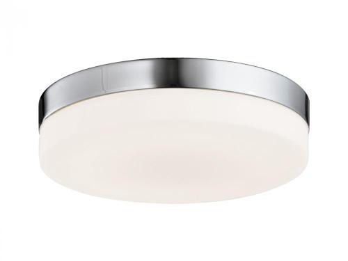 Ceiling Lights By Avenue Lighting CERMACK ST. Flushmount Drum Shade in Brushed Nickel HF1107-BN