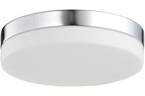 Ceiling Lights By Avenue Lighting CERMACK ST. Flushmount Drum Shade in Polished Chrome HF1107-CH