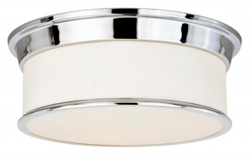 Carlisle 3 Light Opal Flushmount Ceiling Light-C0117 by Vaxcel Lighting
