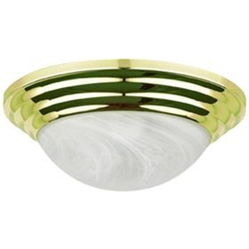 1 Light Green Flushmount Ceiling Light-F7166-62 by Sunset Lighting
