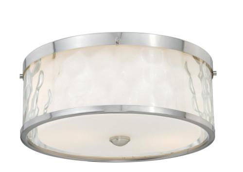 Vilo 2 Light Opal Flushmount Ceiling Light-C0045 by Vaxcel Lighting