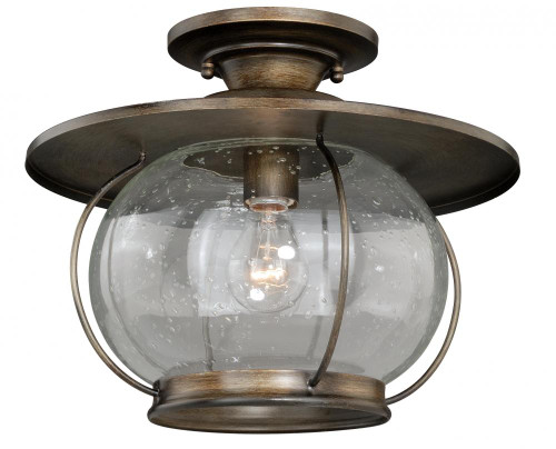 Jamestown 1 Light Clear Semi-Flushmount Ceiling Light-C0078 by Vaxcel Lighting