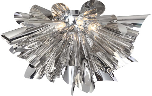 Ceiling Lights By Avenue Lighting BOWERY LANE Flushmount in Chrome HF1303-CH