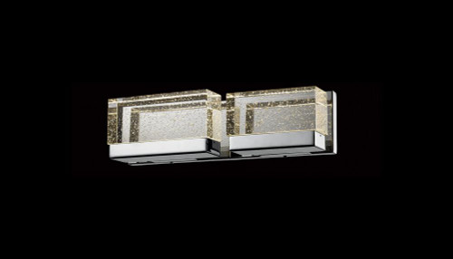 Wall Lights By Avenue Lighting GLACIER AVENUE Sconce in Polished Nickel HF3002-PN