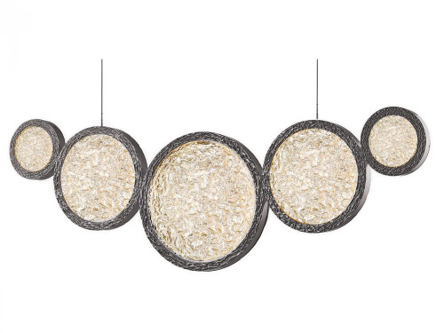 Chandeliers/Linear Suspension By Avenue Lighting BOTTEGA LED Chandeliers in Polished Nickel HF5010-PN
