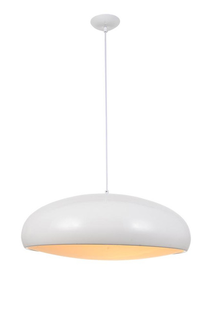 Chandeliers/Pendant Lights By Avenue Lighting DOHENY AVE. Down Light in White HF9116-WT