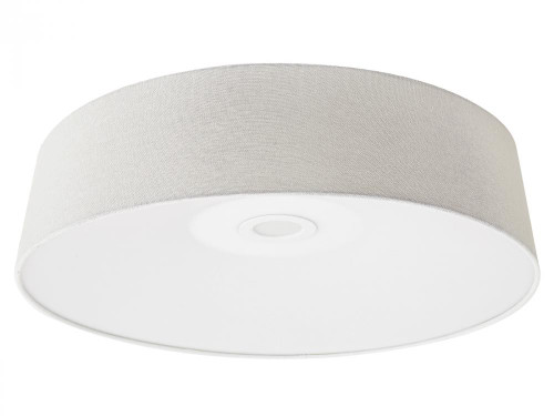 Ceiling Lights By Avenue Lighting CERMACK ST. Flushmount Drum Shade in White HF9201-IVR