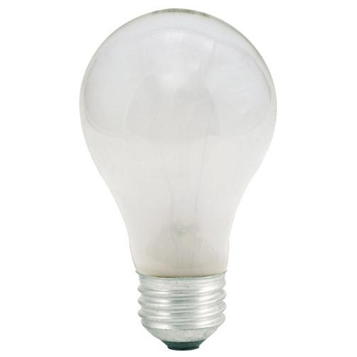 Bulbs & Accessories By Bulbrite 25W A19 FROST E26 130V 2PK 100025