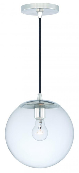 630 Series 1 Light Clear Mini-Pendant Light-P0164 by Vaxcel Lighting