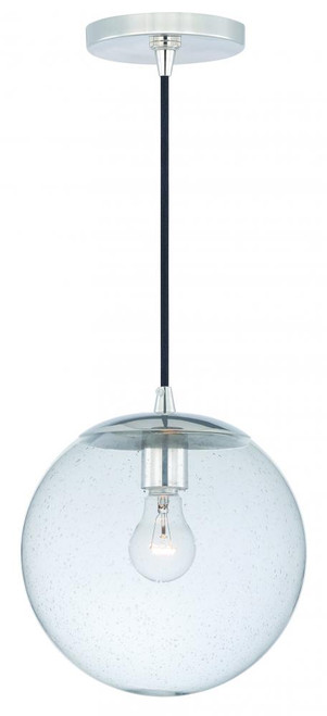 630 Series 1 Light Clear Mini-Pendant Light-P0161 by Vaxcel Lighting