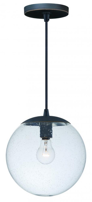 630 Series 1 Light Clear Mini-Pendant Light-P0163 by Vaxcel Lighting