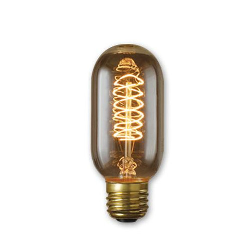 Bulbs & Accessories By Bulbrite 40W T14 NOSTALGIC SPIRAL E26 120V 134014