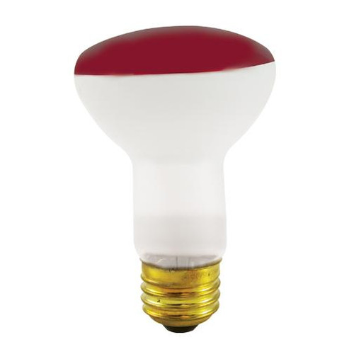 Bulbs & Accessories By Bulbrite 50W R20 REFLECTOR WIDE FLOOD RED E26 120V 227050