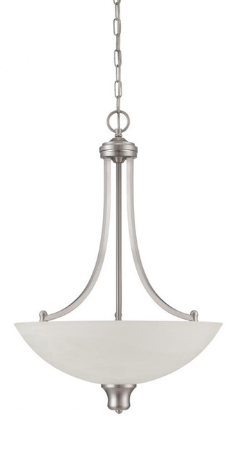 Alton 3 Light Silver Pendant Light-F5433-53 by Sunset Lighting