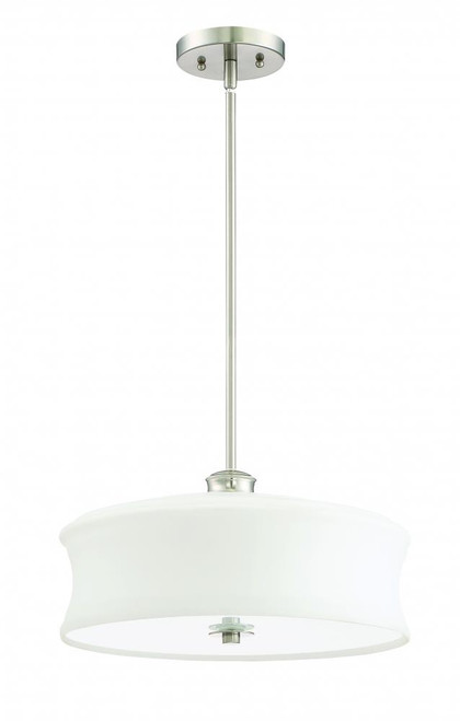 Amala 3 Light Silver Pendant Light-F20004-80 by Sunset Lighting