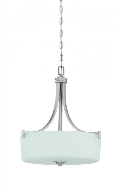 Dalton 3 Light Gray Pendant Light-F18007-80 by Sunset Lighting