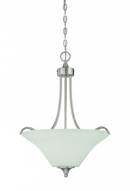 Darby 3 Light Gray Pendant Light-F18057-80 by Sunset Lighting